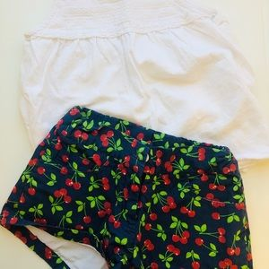 Girls 2pc summer outfit (Baby CZ / Zara)